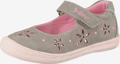 Be Mega Ballerinas in taupe / rosé, Produktansicht