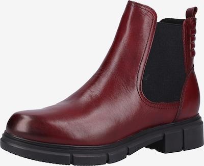 CAPRICE Chelsea Boots in bordeaux, Produktansicht