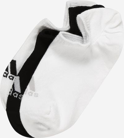 adidas Golf Sportske čarape 'NO SHOW' u crna / bijela, Pregled proizvoda