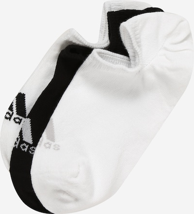 adidas Golf Športové ponožky 'NO SHOW' - čierna / biela, Produkt