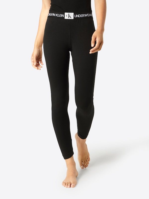 De Noir En Pyjama Calvin Klein Underwear Pantalon qARjL354