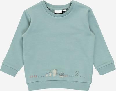 NAME IT Bluza 'KIRAM' w kolorze niebieski / białym: Widok z przodu