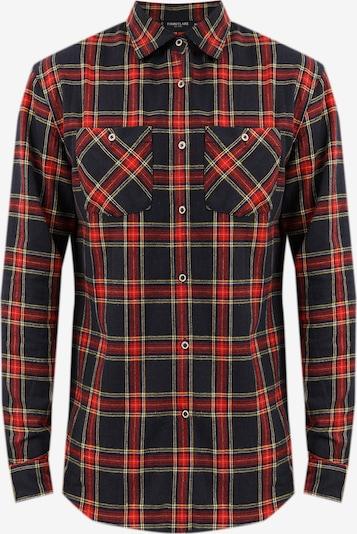 Finn Flare Hemd in kobaltblau / gelb / rot, Produktansicht