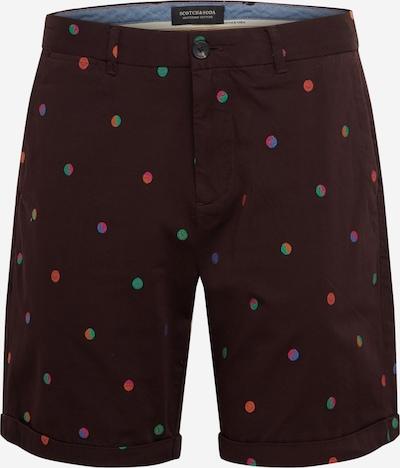 SCOTCH & SODA Shorts in mischfarben / bordeaux, Produktansicht