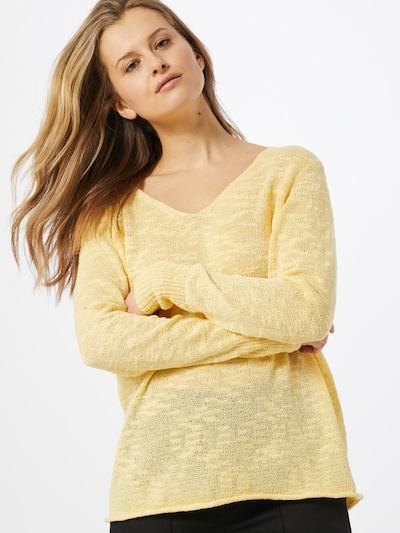 VILA Pullover in gelb, Modelansicht