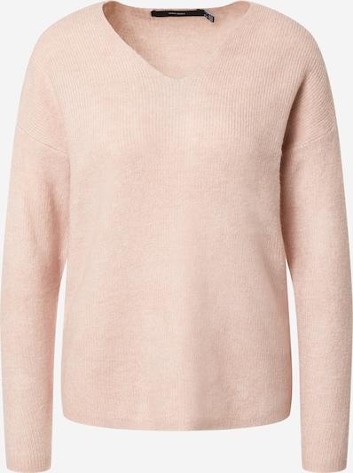 VERO MODA Pulover 'CREWLEFILE' | pastelno roza barva, Prikaz izdelka
