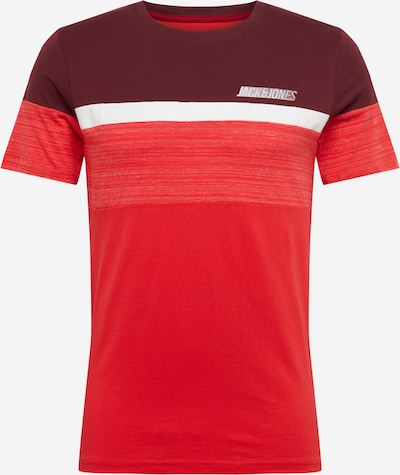 JACK & JONES Shirt 'AIDEN' in rot, Produktansicht
