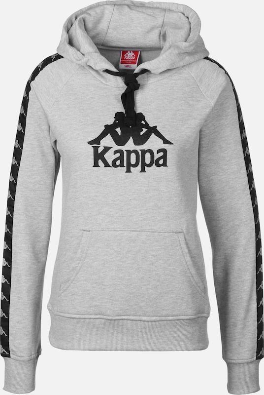 KAPPA Pullover 'Twenny' in graumeliert   schwarz  Freizeit, schlank, schlank