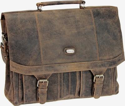 Harold's Porte-documents en marron / marron châtaigne, Vue avec produit