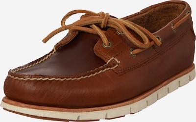 TIMBERLAND Mocassin en brun foncé, Vue avec produit