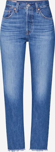 LEVI'S Jeans '501 CROP' in blue denim, Produktansicht