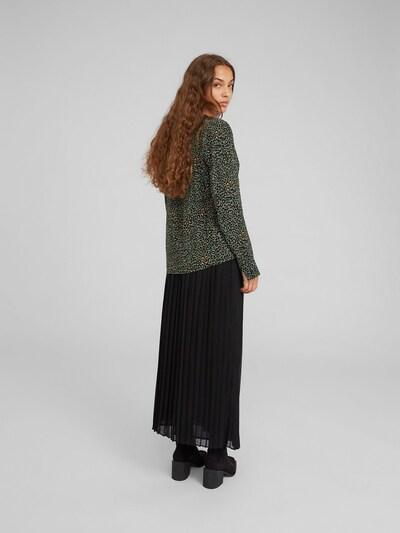 EDITED Bluse 'Brittany' in grün: Rückansicht
