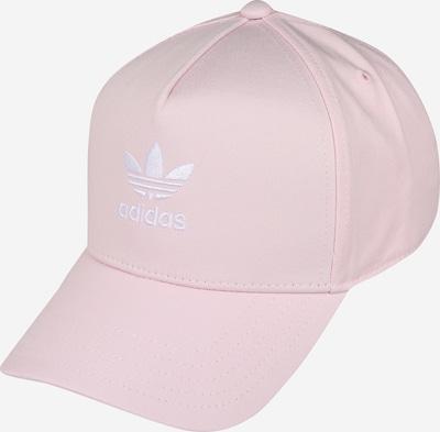 ADIDAS ORIGINALS Cap 'AC CLSD TRK CRV' in rosa / weiß, Produktansicht