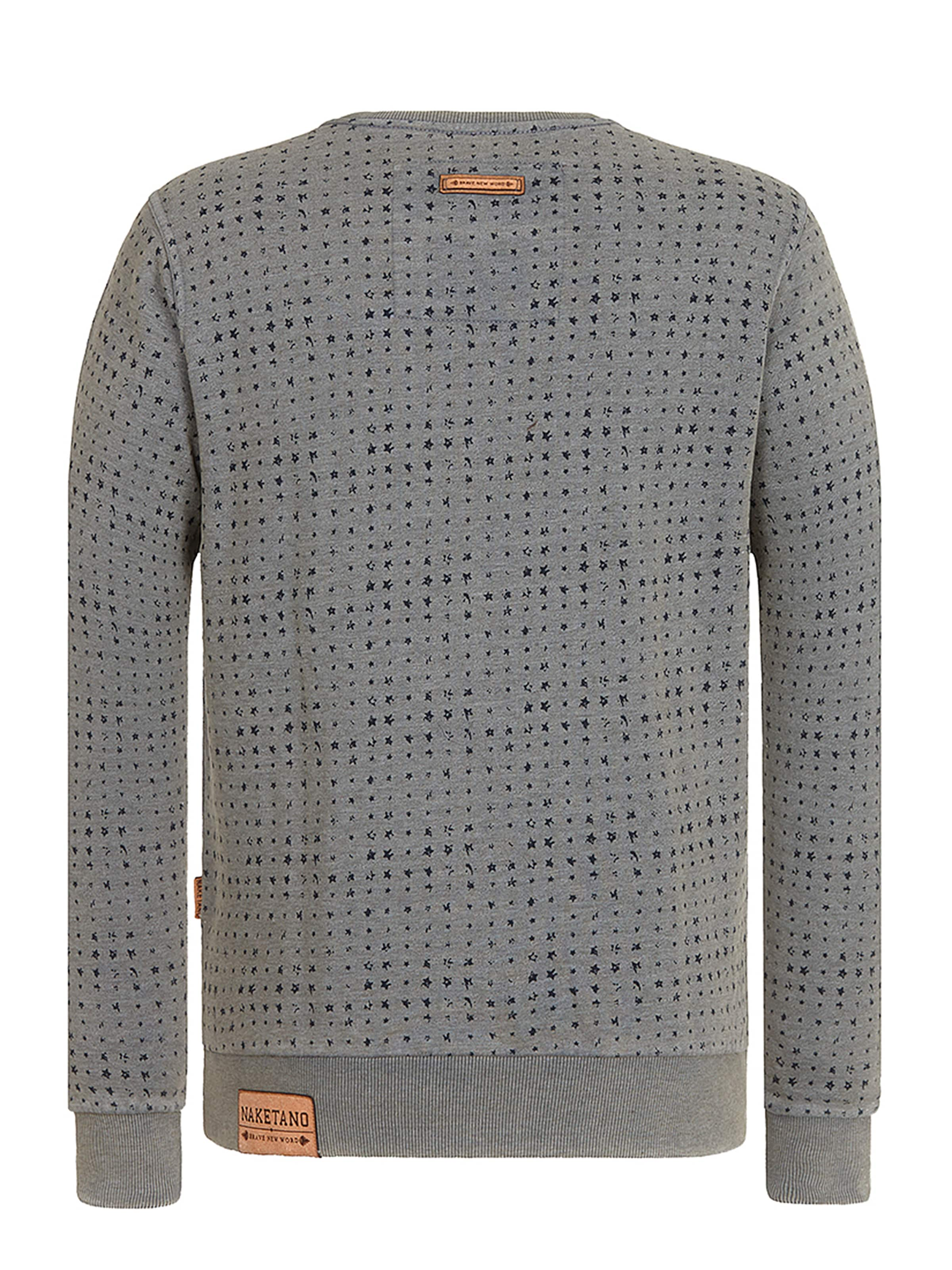 Aufm In Sweatshirt 'tinte Iii' Naketano Füller Grau PXuwkiTOZ