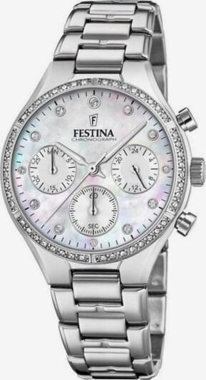 FESTINA Uhr in schwarz / silber / weiß, Produktansicht
