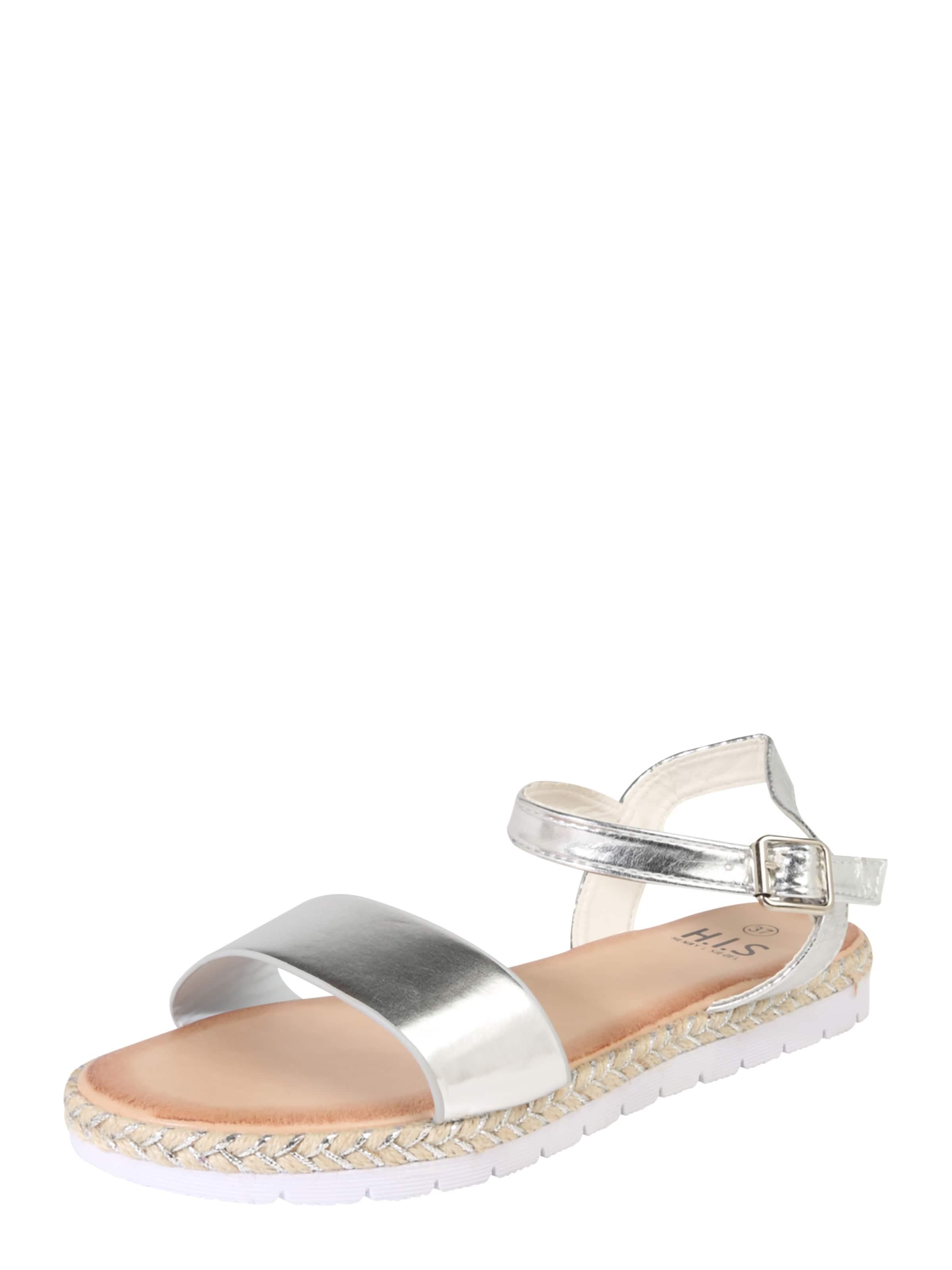 H.I.S | Sandale im Metallic-Look