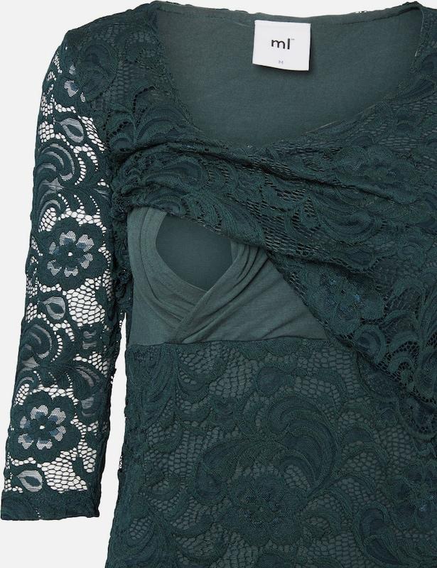 MAMALICIOUS Spitzen-Still-Bluse mit 3/4-Ärmel