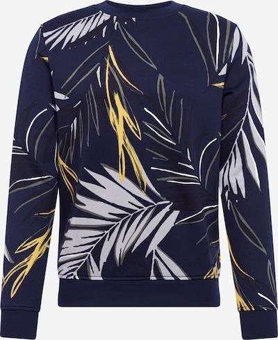 BOSS Bluzka sportowa 'Weleaf' w kolorze ciemny niebieski / białym, Podgląd produktu