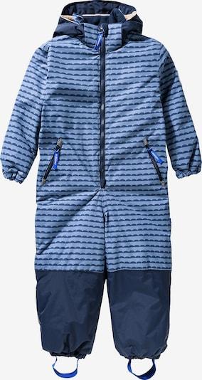 FINKID Overall 'Turva' in nachtblau / hellblau, Produktansicht