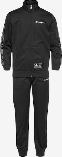 Champion Authentic Athletic Apparel Trainingsanzug 'FULL ZIP SUIT' in schwarz, Produktansicht