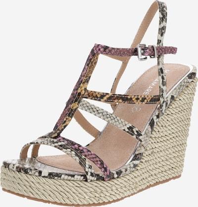 MARIAMARE Sandalen met riem 'NEFERU' in de kleur Beige / Bruin, Productweergave