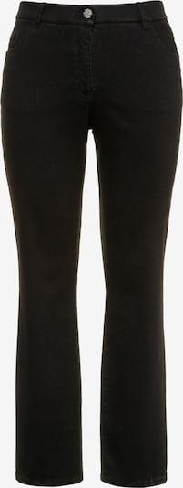 Ulla Popken Jeans 'MANDY' in schwarz, Produktansicht