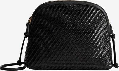 VIOLETA by Mango Tasche 'Min Braided' in schwarz, Produktansicht