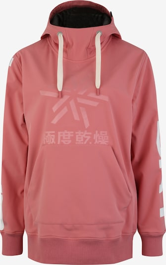 Superdry Snow Sweat de sport 'SNOW TECH HOOD' en rose / blanc, Vue avec produit