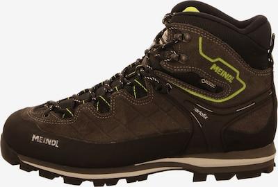 MEINDL Boots in de kleur Bruin / Neongeel, Productweergave