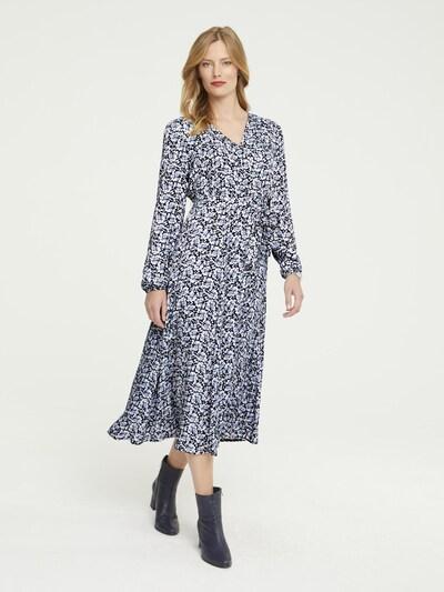 heine Kleid in navy / lila / weiß, Modelansicht