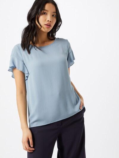 VILA Blusenshirt in hellblau, Modelansicht