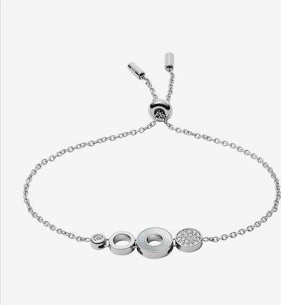 FOSSIL Armband in silber, Produktansicht
