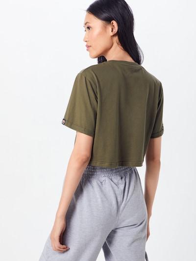 Marškinėliai iš ELLESSE , spalva - rusvai žalia: Vaizdas iš galinės pusės