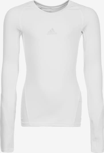 ADIDAS PERFORMANCE Trainingsshirt 'AlphaSkin' in offwhite, Produktansicht