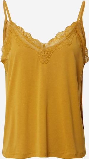 ONLY Top 'ONLFREE LIFE S/L LACE TOP JRS' in gelb, Produktansicht