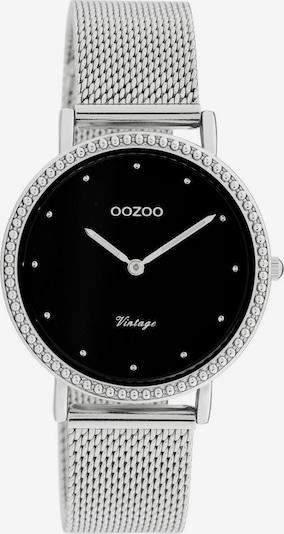 OOZOO Uhr 'C20052' in schwarz / silber, Produktansicht