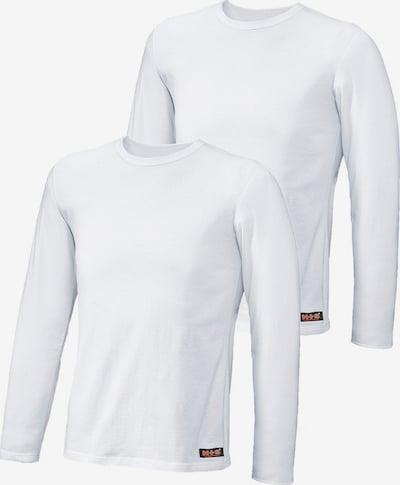H.I.S Langarmshirt in weiß, Produktansicht