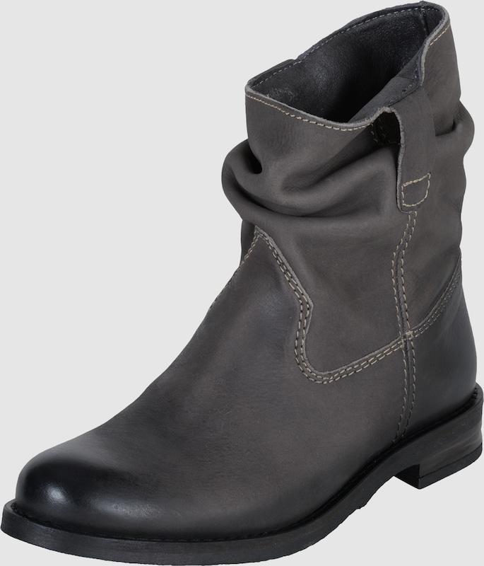 BUFFALO Flache Stiefeletten aus Leder Leder Bequem, gut aussehend