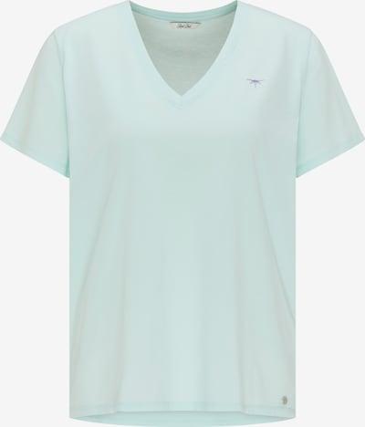 Petrol Industries T-shirt en azur, Vue avec produit