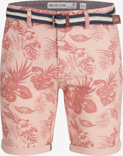 INDICODE JEANS Shorts 'Curtain' in rosa, Produktansicht