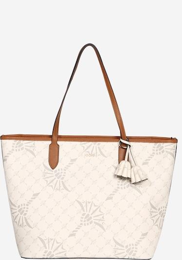 JOOP! Shopper in de kleur Karamel / Grijs / Wit, Productweergave