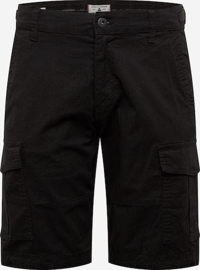 JACK & JONES Cargoshorts 'Alfa' in schwarz, Produktansicht