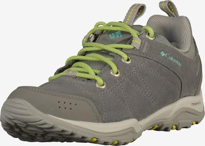 COLUMBIA Wanderschuhe in grau / grün, Produktansicht