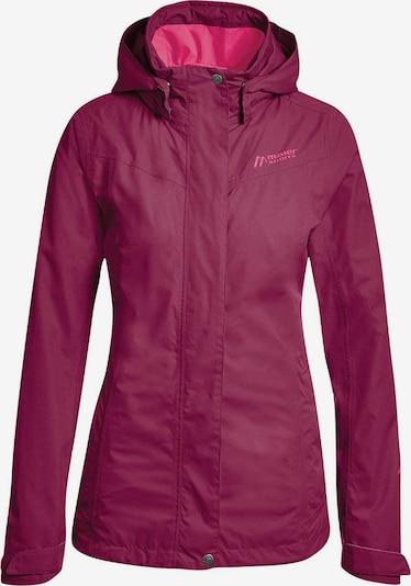 Maier Sports Jacke in dunkelpink, Produktansicht
