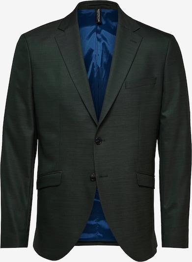 SELECTED HOMME Veste de costume en vert foncé, Vue avec produit