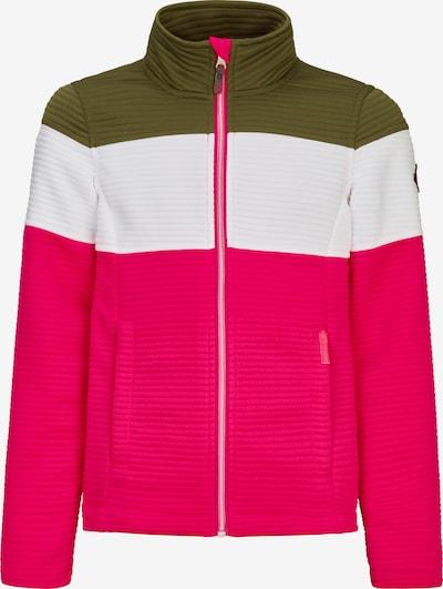 KILLTEC Kevad-sügisjope roheline / roosa / valge, Tootevaade