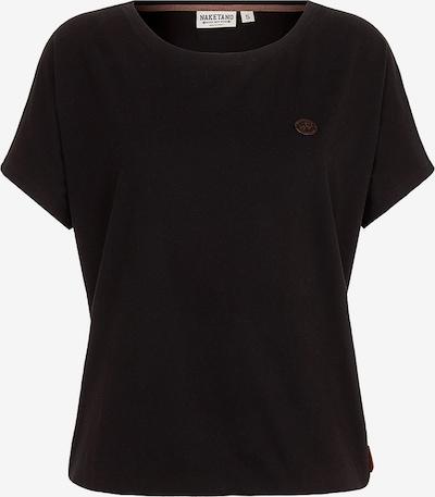 naketano Shortsleeve 'Schnella Baustella' in schwarz, Produktansicht