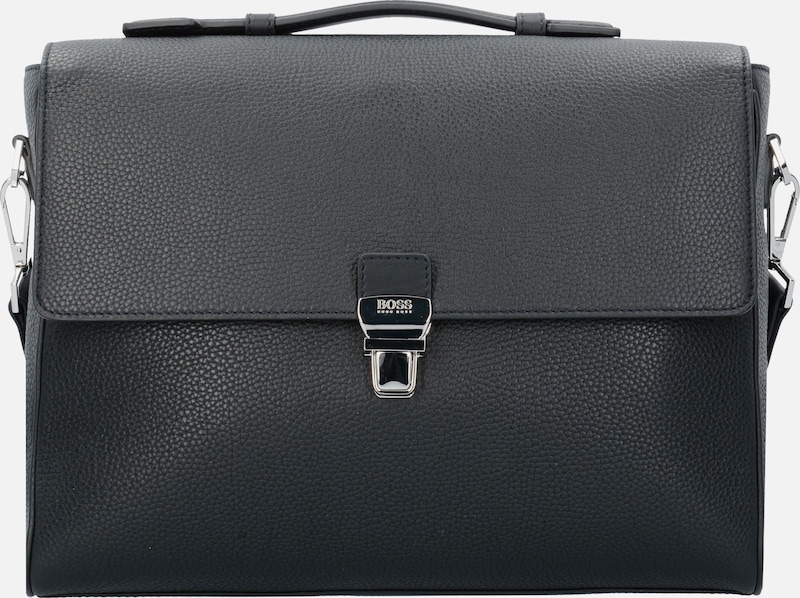 Boss Traveler Messenger Briefcase Leather 39 Cm