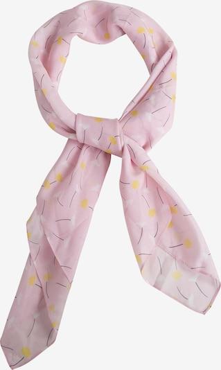 EDITED Masque en tissu 'Ranee' en rose / blanc, Vue avec produit