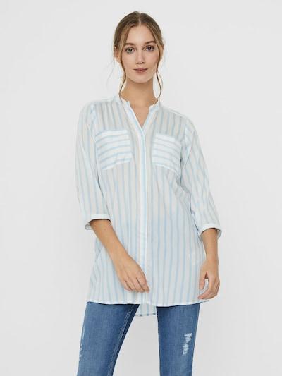 VERO MODA Bluse ''VMERIK' in blau / weiß, Modelansicht